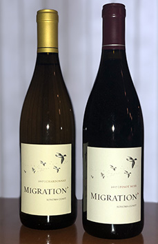 Migration Chardonnay and Pinot Noir
