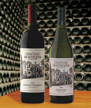 Chateau Montelena Cabernet Sauvignon and Chardonnay