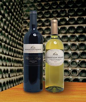 Robertson Winery Pinotage and Gewürztraminer